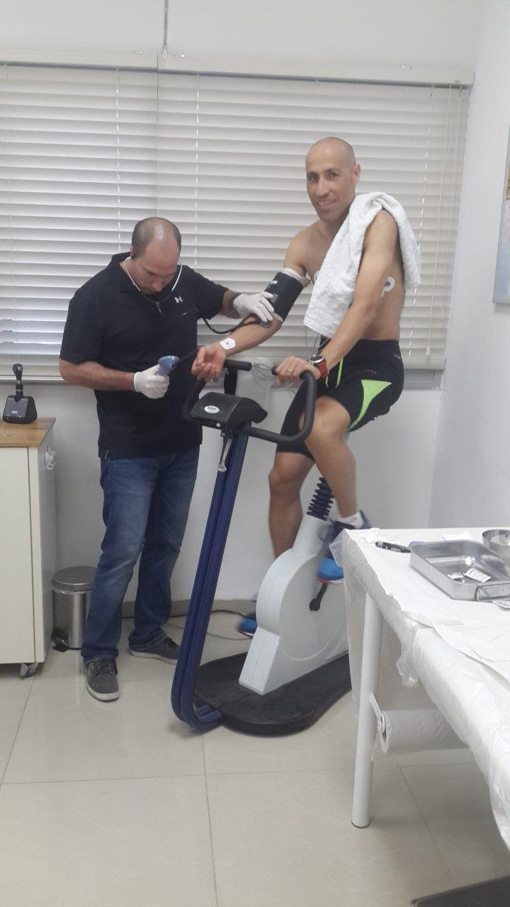 בדיקת רופא ספורט