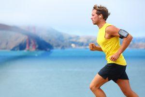 ספורטאי ריצת בוקר